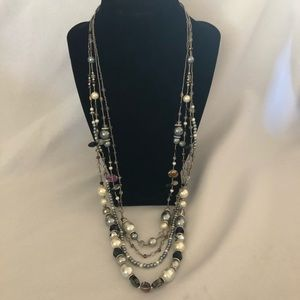 New multi strand beaded necklace from Francesca's